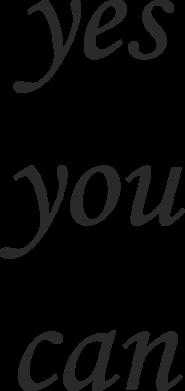 Print Etui na Xiaomi Mi6 Napis: Yes you can - PrintSalon