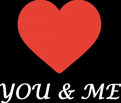 Print Plecak z przednią kieszenią You & me - PrintSalon