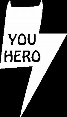Print Koszulka Polo You hero - PrintSalon