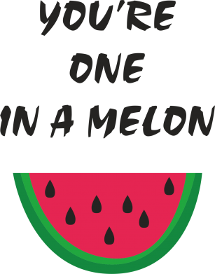 Print Mug 330ml You're one in a melon - PrintSalon