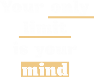 Print Damska koszulka polo Your only limit is your mind - PrintSalon