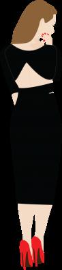 Print Etui na iPhone 11 Zamyślona dziewczyna - PrintSalon