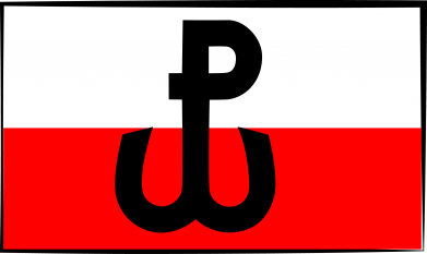 Print Notes Polska Walcząca i flaga Polski - PrintSalon