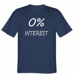 Koszulka 0% interest