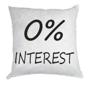 Poduszka 0% interest