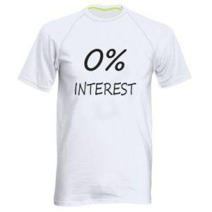 Męska koszulka sportowa 0% interest