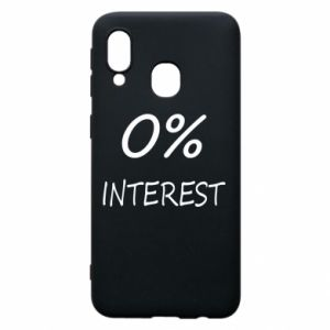 Phone case for Samsung A40 0% interest