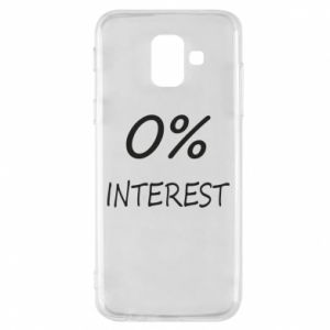 Phone case for Samsung A6 2018 0% interest