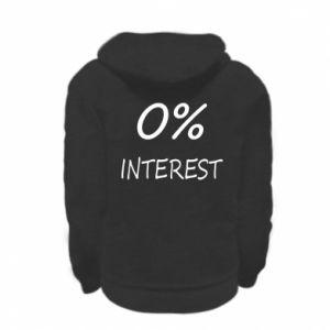 Bluza na zamek dziecięca 0% interest
