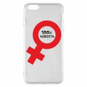 Phone case for iPhone 6 Plus/6S Plus 100% woman - PrintSalon