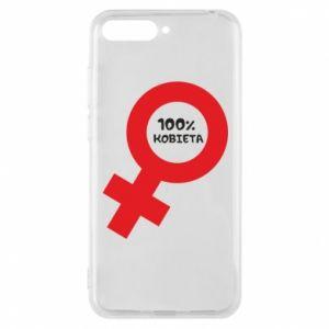 Phone case for Huawei Y6 2018 100% woman - PrintSalon