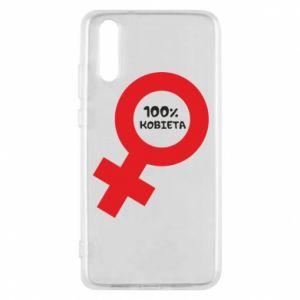 Phone case for Huawei P20 100% woman - PrintSalon