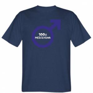 Koszulka męska 100% man!