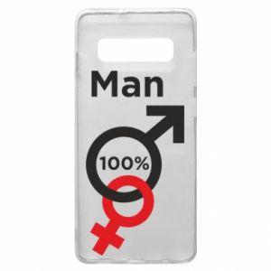 Etui na Samsung S10+ 100% Man