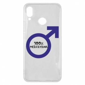 Phone case for Huawei P Smart Plus 100% man!