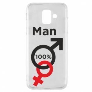 Etui na Samsung A6 2018 100% Man