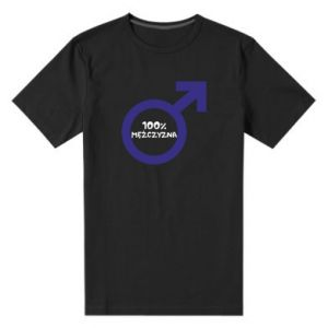 Men's premium t-shirt 100% man! - PrintSalon