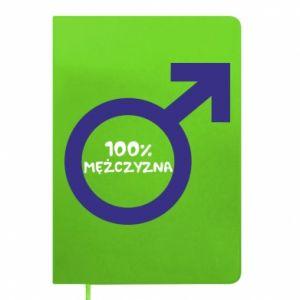 Notes 100% man!