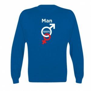 Bluza dziecięca 100% Man