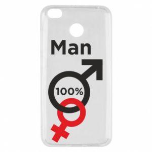 Etui na Xiaomi Redmi 4X 100% Man
