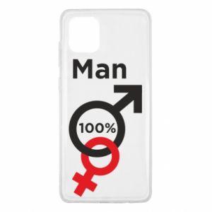 Etui na Samsung Note 10 Lite 100% Man