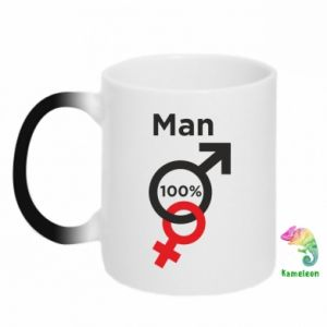 Kubek-magiczny 100% Man