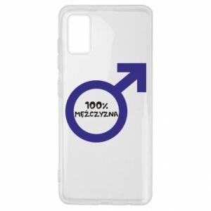 Etui na Samsung A41 100% man!