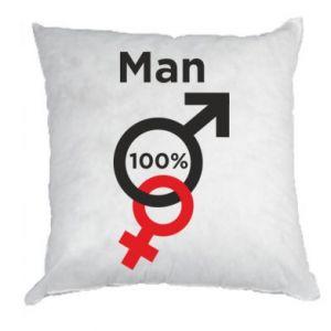 Poduszka 100% Man