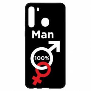Etui na Samsung A21 100% Man
