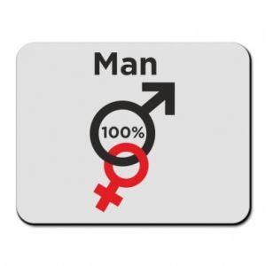 Podkładka pod mysz 100% Man