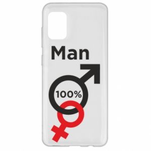 Etui na Samsung A31 100% Man