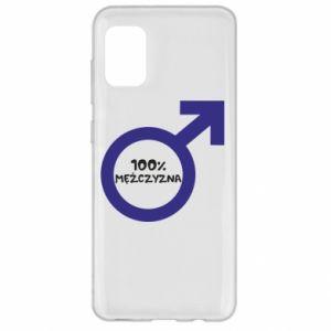 Etui na Samsung A31 100% man!