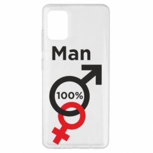 Etui na Samsung A51 100% Man