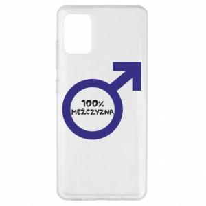 Etui na Samsung A51 100% man!