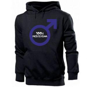 Men's hoodie 100% man!