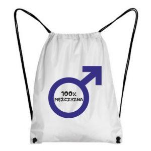 Plecak-worek 100% man!
