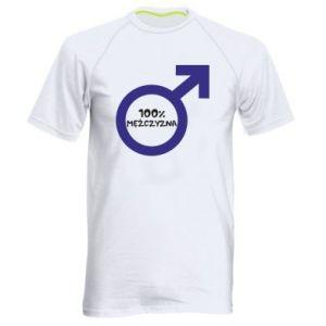 Koszulka sportowa męska 100% man!