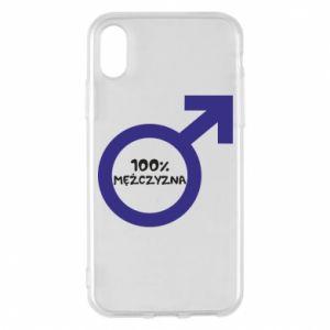 Etui na iPhone X/Xs 100% man!
