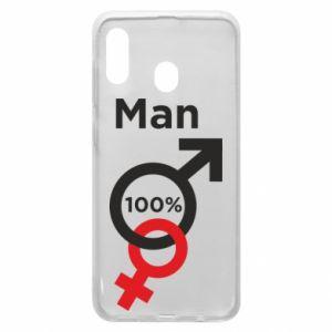Etui na Samsung A20 100% Man