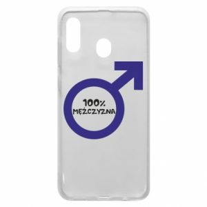 Phone case for Samsung A30 100% man!