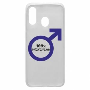 Phone case for Samsung A40 100% man!