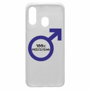 Etui na Samsung A40 100% man!