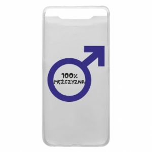 Phone case for Samsung A80 100% man!