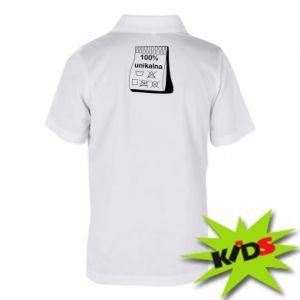 Children's Polo shirts 100% unique, for her - PrintSalon