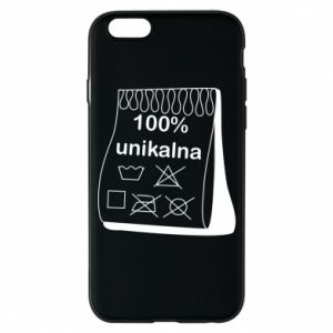 Etui na iPhone 6/6S 100% unikalna