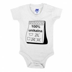Baby bodysuit 100% unique, for her - PrintSalon