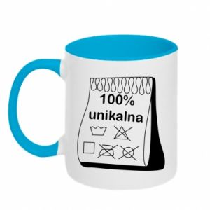 Two-toned mug 100% unique, for her - PrintSalon