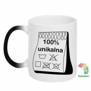 Chameleon mugs 100% unique, for her - PrintSalon