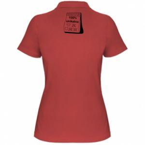 Women's Polo shirt 100% unique, for her - PrintSalon