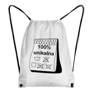 Backpack-bag 100% unique, for her - PrintSalon